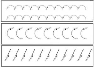 free printables tracing line worksheet for preschooler