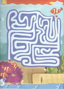 fun maze worksheet for preschoolers