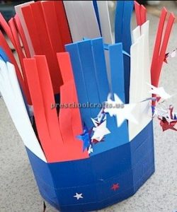 memorial day craft - hat craft for preschool