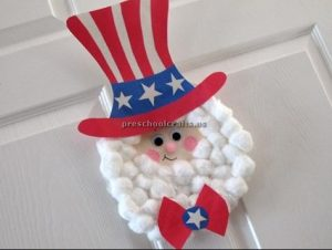 memorial day uncle sam craft ideas for preschool