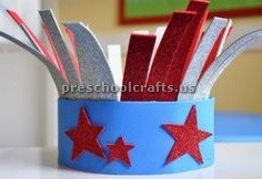 memorial hat craft ideas for preschool
