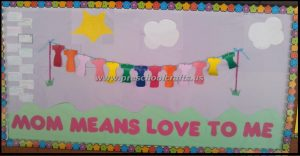 mothers day bulletin boards
