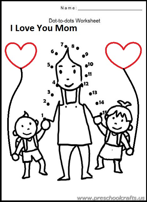 Free Printable Mother's Day Worksheets for Kids ...