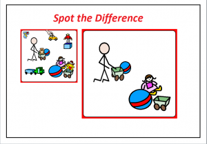 printable spot the difference worksheet