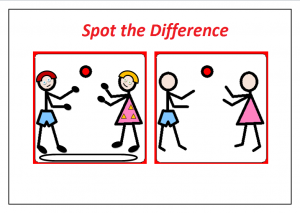 spot the difference worksheet for kids