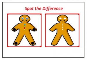 spot the difference worksheet for preschool