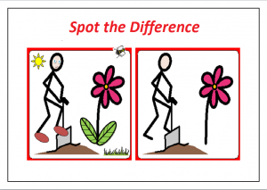 spot the difference worksheet printable