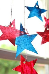 stars craft ideas for memorial day