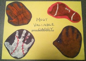 Happy Fathers Day Crafts Idea for Preschool and Kindergarten