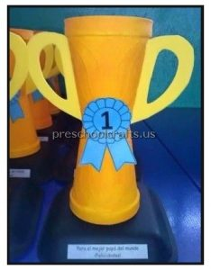 Happy Father's Day Cup Craft Ideas for Preschool and Kindergarten