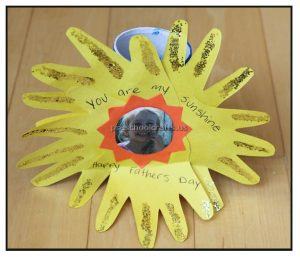 Happy Father's Day Sun Craft Ideas for Preschool and Kindergarten
