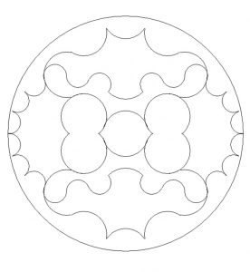 Free Printable Mandala Coloring Pages for 1'st grader