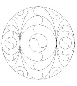 Free Printable Mandala Coloring Pages for 1'st graders