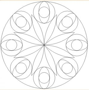 Free Printable Mandala Coloring Pages for Firstgrader
