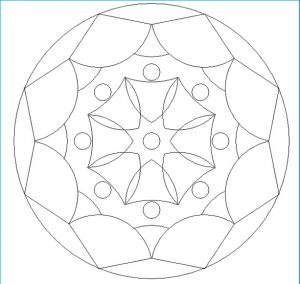 Free Printable Mandala Coloring Pages for Kid