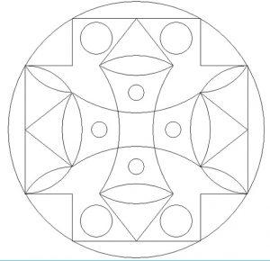 Free Printable Mandala Coloring Pages for Kindergartner
