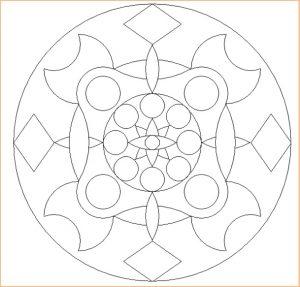 Free Printable Mandala Coloring Pages for Preschooler