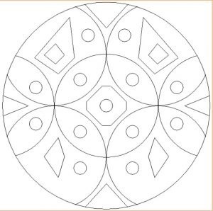 Free Printable Mandala Coloring Pages for Preschoolers