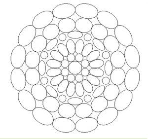 Free Printable Mandala Colouring Pages for Firstgraders