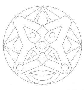 Free Printable Mandala Colouring Pages for Preschooler