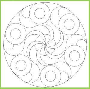 Mandala Coloring Page for Kids - Free Printable
