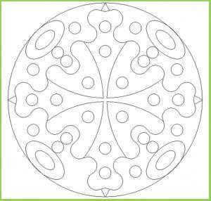 Mandala Coloring Page for Kindergarten - Free Printable