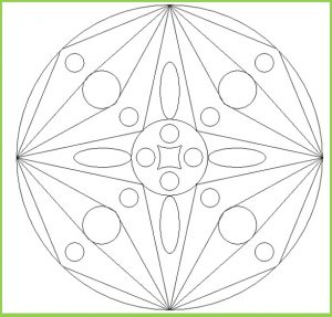 Mandala Coloring Pages for Kindergarten - Free Printable
