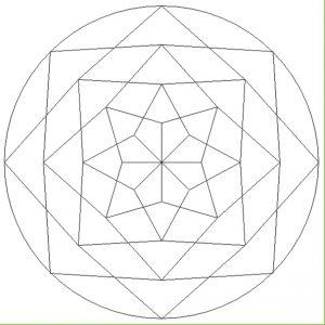 Mandala Coloring Pages for Kindergarten - Printable