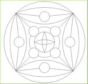 Mandala Coloring Pages for Preschool - Printable