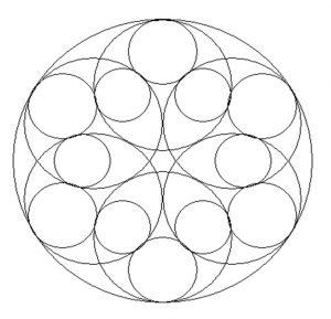 Preschoolers Mandala Coloring Page Free Printable,