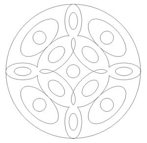 Printable Mandala Coloring Pages for Kids