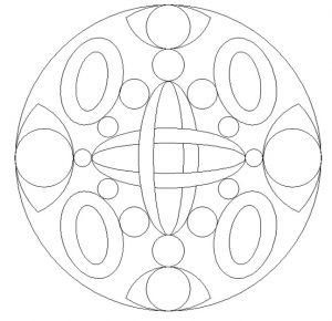 Printable Mandala Coloring Pages for Kindergartner