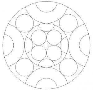 Printable Mandala Coloring Pages for Preschoolers