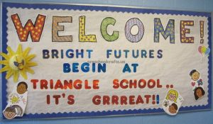 back to school bulletin board ideas for 1'st grade