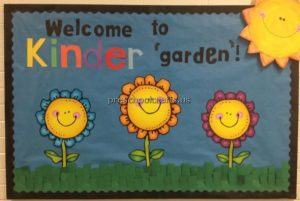 back to school bulletin board ideas for kinder garden