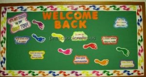 back to school bulletin board ideas for kindergarten