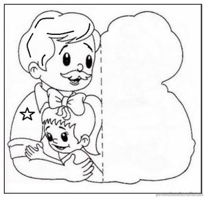 fathers day coloring pages for kindergarten
