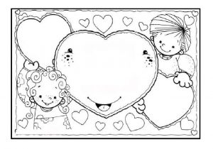 picture relating to Printable Mothers Day Coloring Page named Pleased Moms Working day Coloring Webpages - No cost Printable