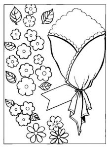 mothers day coloring pages for preschool