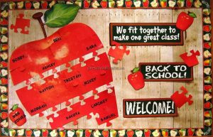 primary school back to school bulletin boards