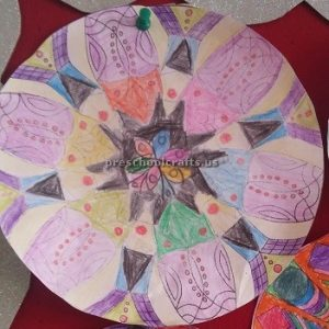 Easy Mandala Art Activities for 1st grade