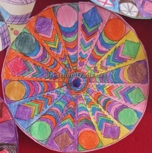 Easy Mandala Art Activities for firstgrade