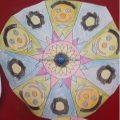 Easy Mandala Art Activities for kindergarteners