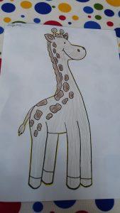 Giraffe craft ideas for 1st grader