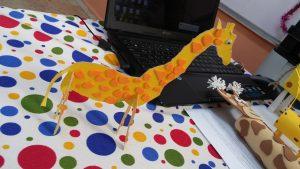 Giraffe craft ideas for firtst grader