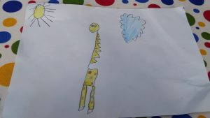 Giraffe craft ideas for firtstgrader