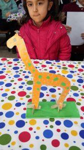 Giraffe craft ideas for kid