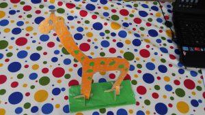 Giraffe craft ideas for kids