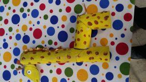 Giraffe craft ideas for kindergartener