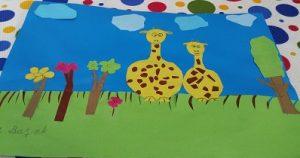 Giraffe craft ideas-for preschool and kindergarten